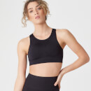 Myprotein Shape Seamless Ultra Sports Bra – Black - XS - Black