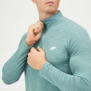 Myprotein Performance 1/4 Zip Top - Airforce Blue Marl - S