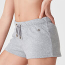 Luxe Lounge Shorts - Grey Marl - S