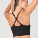 Shape Seamless Sports Bra - Black - XS - Black