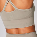 Shape Seamless Sports Bra - S - Taupe