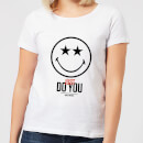 Smiley World Slogan Just Do You Women's T-Shirt - White