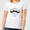 Smiley Smiles Are Free Women's T-Shirt - White