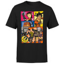 Star Wars Rebels Comic Strip Men's T-Shirt - Black