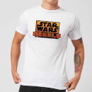 Star Wars Rebels Logo Men's T-Shirt - White