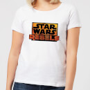 Star Wars Rebels Logo Women's T-Shirt - White