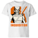 Star Wars Rebels Inquisitor Kids' T-Shirt - White