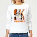 Star Wars Rebels Inquisitor Women's Sweatshirt - White