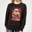 Star Wars Rebels Poster Women's Sweatshirt - Black