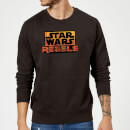 Star Wars Rebels Logo Sweatshirt - Black