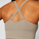 Shape Seamless Sports Bra - Taupe - XS