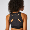 Inspire Seamless Sports Bra - Black