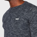 Performance Long Sleeve T-Shirt - Navy Marl - S
