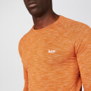 Performance Long Sleeve T-Shirt - Amber Marl - XS