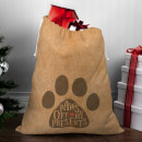 Paws Off My Presents Christmas Sack