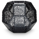 Tom Dixon Etch Tea Light Holder - Black Dot