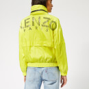 KENZO Women's Logo Windbreaker - Golden Yellow