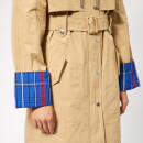 KENZO Women's Trench Coat - Dark Beige