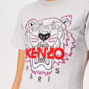 KENZO Women's Tiger Flare Summer Dress - Pale Grey