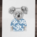 Balazs Solti Koala Bear Cotton Tea Towel