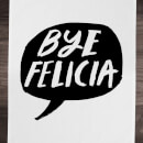 Rock On Ruby Bye Felicia Cotton Tea Towel