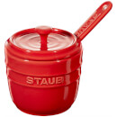 Staub Ceramic Round Sugar Bowl - Cherry