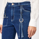 See By Chloé Women's Tassel Detail Jeans - Ink Marine