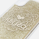 KENZO Women's Glitter Tiger iPhone Case - Gold