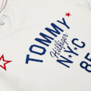 Tommy Hilfiger Girls' Essential Tommy Logo T-Shirt - Snow White