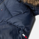 Tommy Hilfiger Girls' Essential Basic Down Jacket - Black Iris