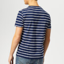 Polo Ralph Lauren Men's Custom Slim Fit Stripe Short Sleeve T-Shirt - Holiday Navy