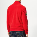 Polo Ralph Lauren Men's Vintage Polarfleece Top - RL Red