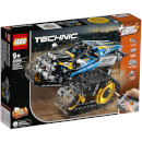 Remote-Controlled Stunt Racer Model