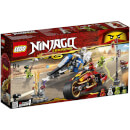 LEGO Ninjago: Kai's Blade Cycle and Zane's Snowmobile (70667)