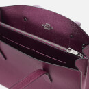 Coach Women's Metallic Leather Interior Charlie Carryall Bag - Dark Berry