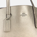 Coach Women's Metallic Leather Charlie Carryall Bag - Platinum