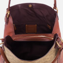Coach Women's Coated Canvas Signature Edie 31 Shoulder Bag - Rust