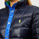 Polo Ralph Lauren Women's Colourblock Down Jacket - Navy/Multi