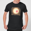 Rick and Morty Screaming Sun Men's T-Shirt - Black