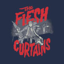 Rick and Morty The Flesh Curtains Men's T-Shirt - Navy