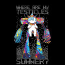 Rick and Morty Where Are My Testicles Summer Women's T-Shirt - Black