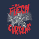 T-Shirt Femme The Flesh Curtains Rick et Morty - Bleu Marine
