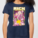 Rick and Morty 80s Poster Women's T-Shirt - Navy