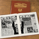 Birmingham Football Newspaper Book - Brown Leatherette