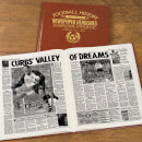 Charlton Football Newspaper Book - Brown Leatherette