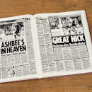 Hull Football Newspaper Book - Brown Leatherette