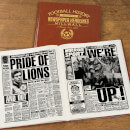 Millwall Newspaper Book - Brown Leatherette