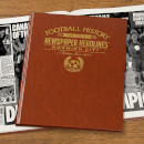 Norwich Newspaper Book - Brown Leatherette