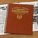 Portsmouth Newspaper Book - Brown Leatherette
