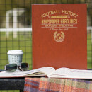 Rangers Europe Newspaper Book - Brown Leatherette